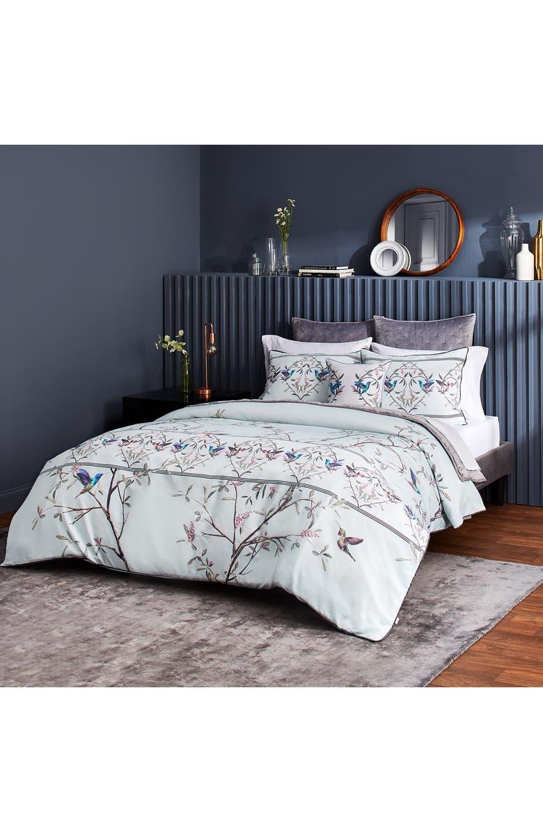 TED BAKER LONDON Highgrove Mint Comforter & Sham Set, Main, color, MINT
