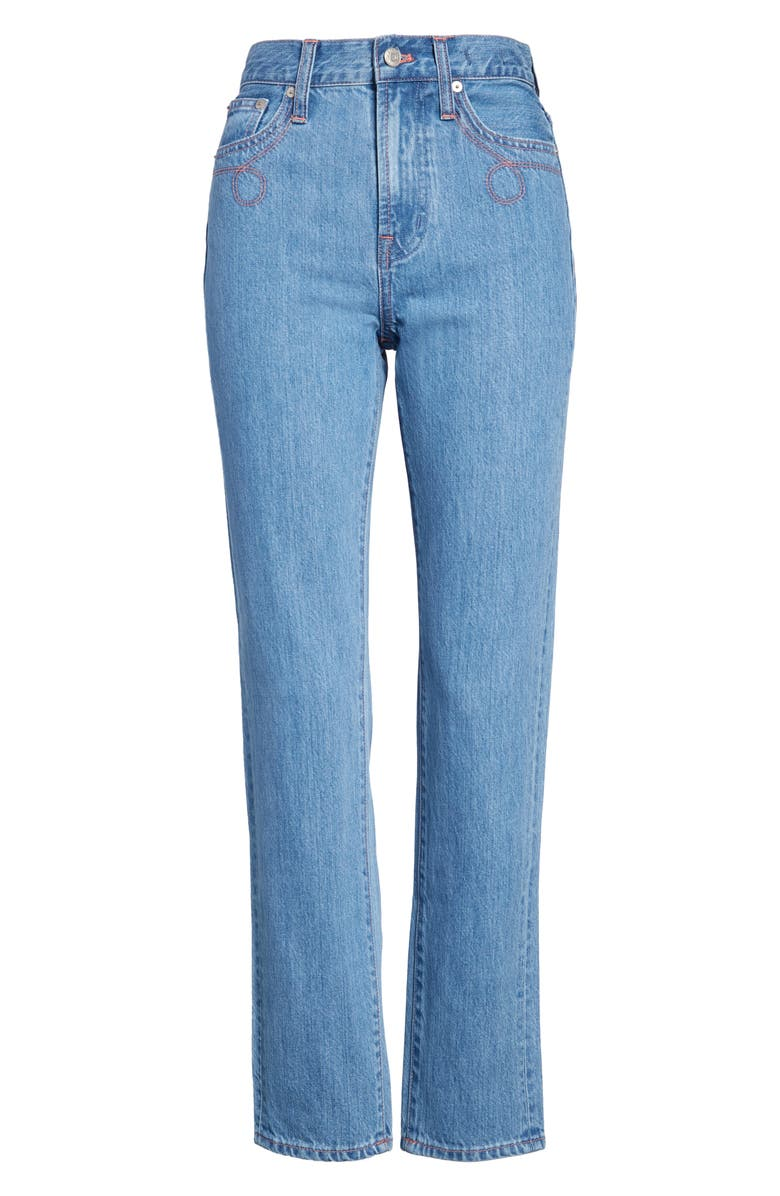 MADEWELL The Perfect Vintage Jeans, Main, color, CURLICUE WASH