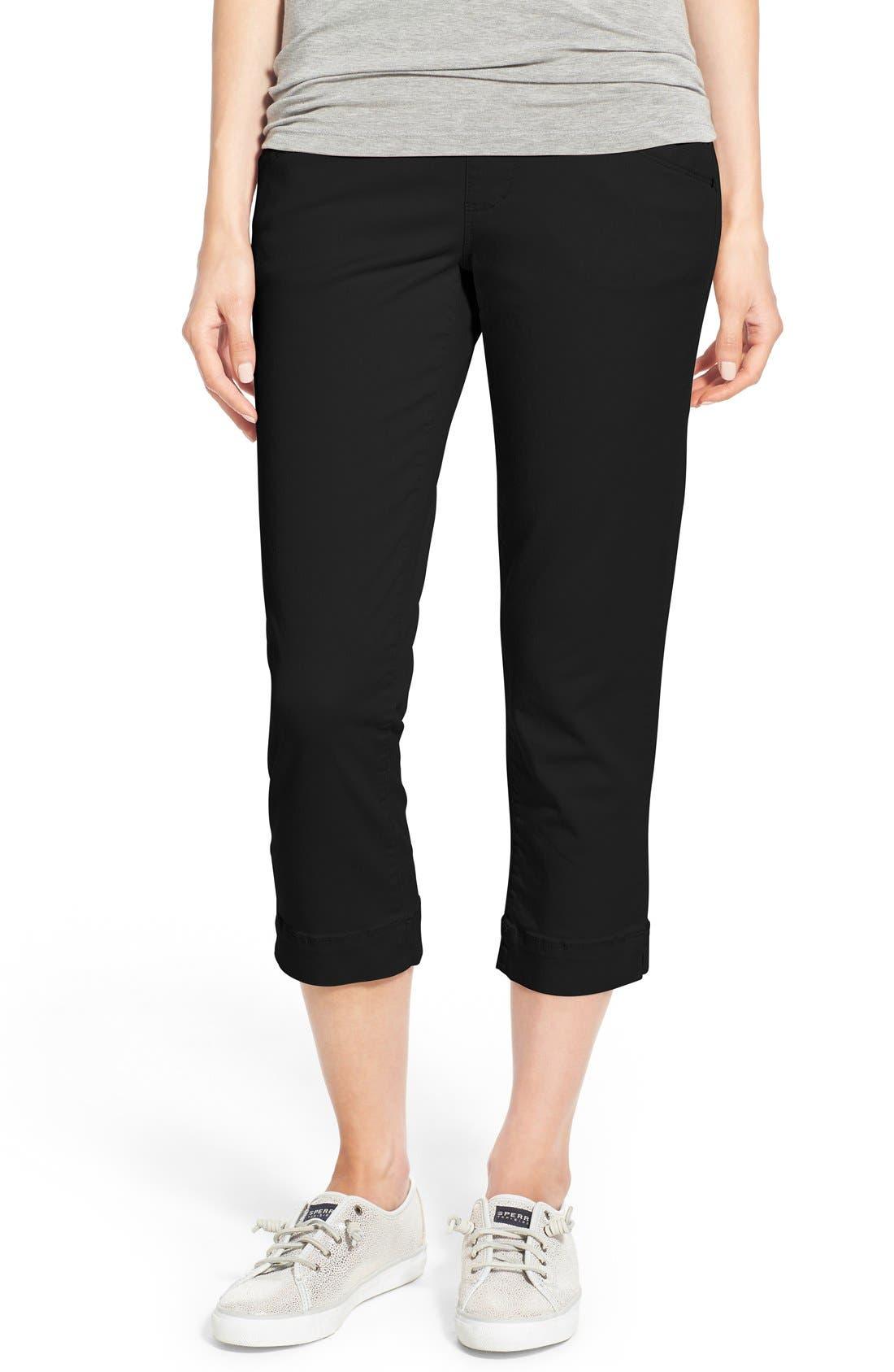 Image of JAG Jeans Marion Colored Pull-On Stretch Twill Crop Pants
