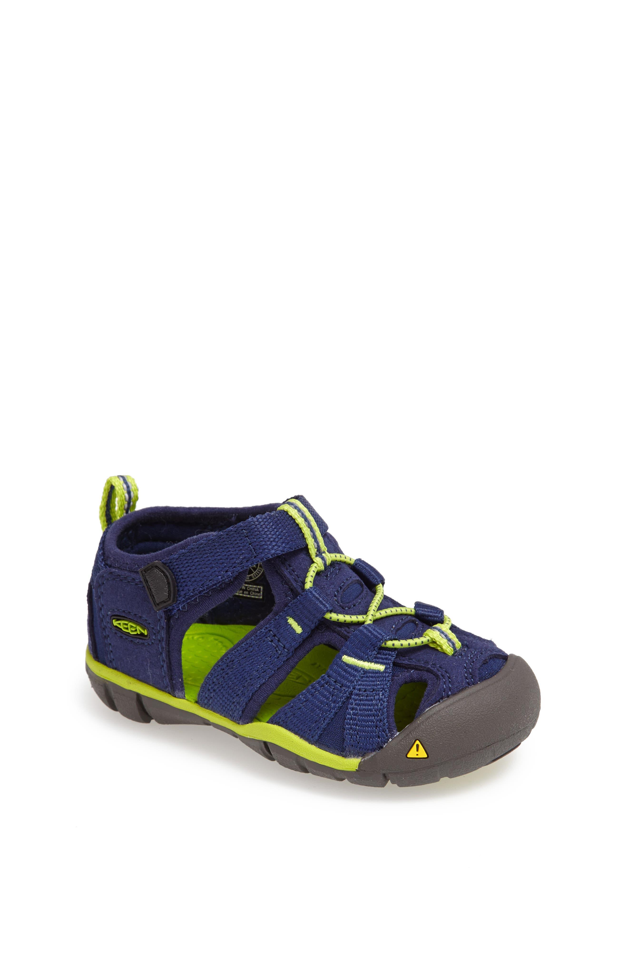 ,                             'Seacamp II' Water Friendly Sandal,                             Main thumbnail 202, color,                             468