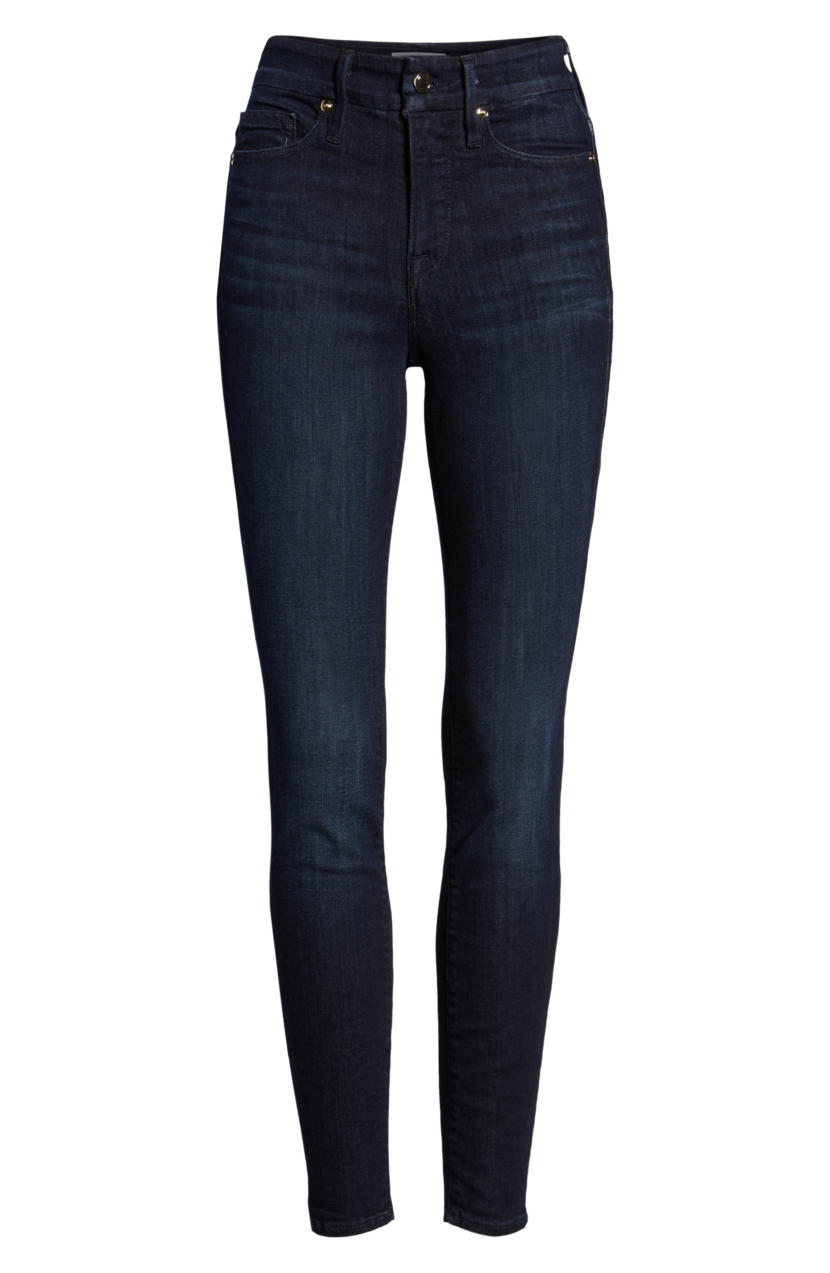 ,                             Good Legs High Waist Skinny Jeans,                             Alternate thumbnail 42, color,                             406