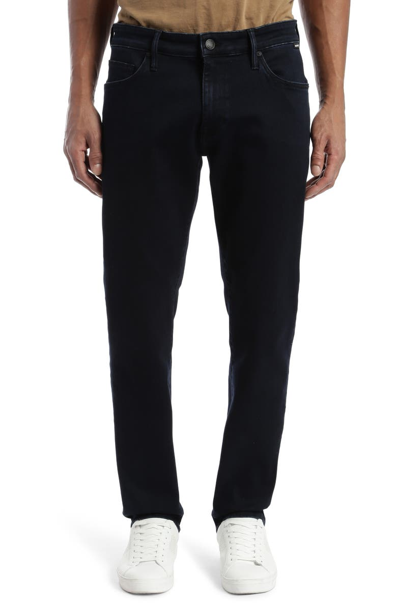 MAVI JEANS Marcus Slim Straight Leg Jeans, Main, color, INK SUPERMOVE