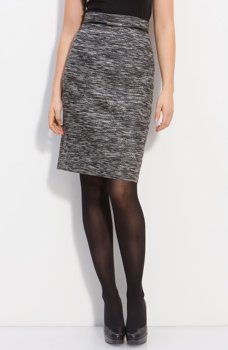 CLASSIQUES ENTIER<SUP>®</SUP> 'Bourtagne' Pencil Skirt, Main, color, 001