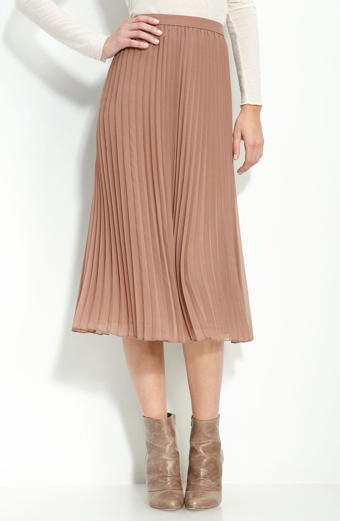 ,                             Pleated Ballet Skirt,                             Main thumbnail 1, color,                             200