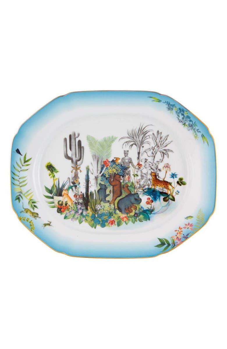 CHRISTIAN LACROIX Reveries Large Platter, Main, color, WHITE
