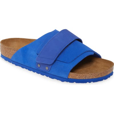 Birkenstock Kyoto Slide Sandal,10.5 - Blue