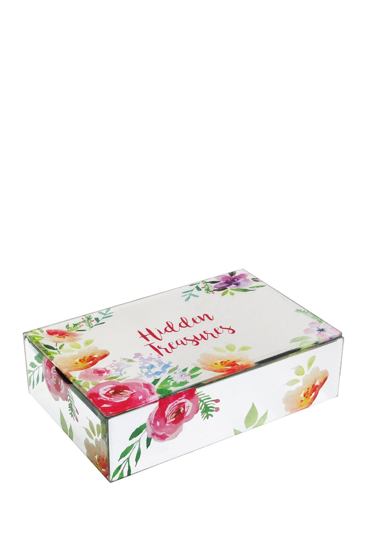 Image of Jay Import Hidden Treasures Floral Box