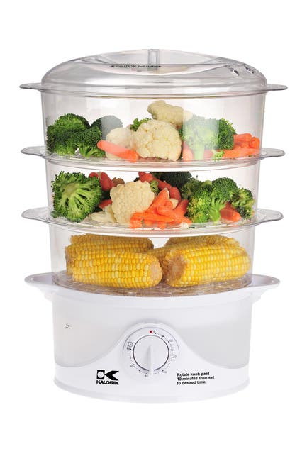Image of Kalorik 3 Tier Food Steamer