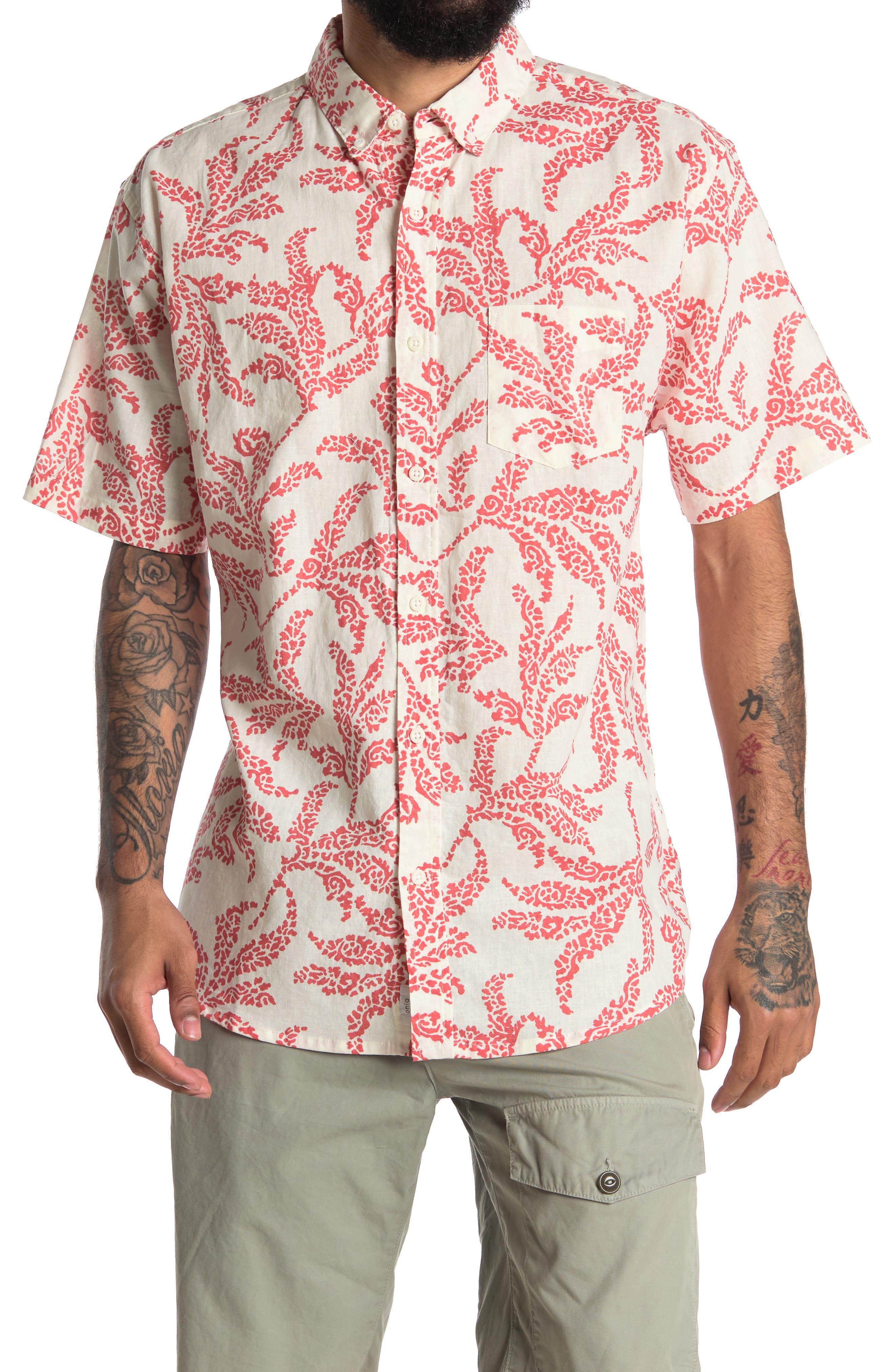 Image of Onia Jack Short Sleeve Shirt