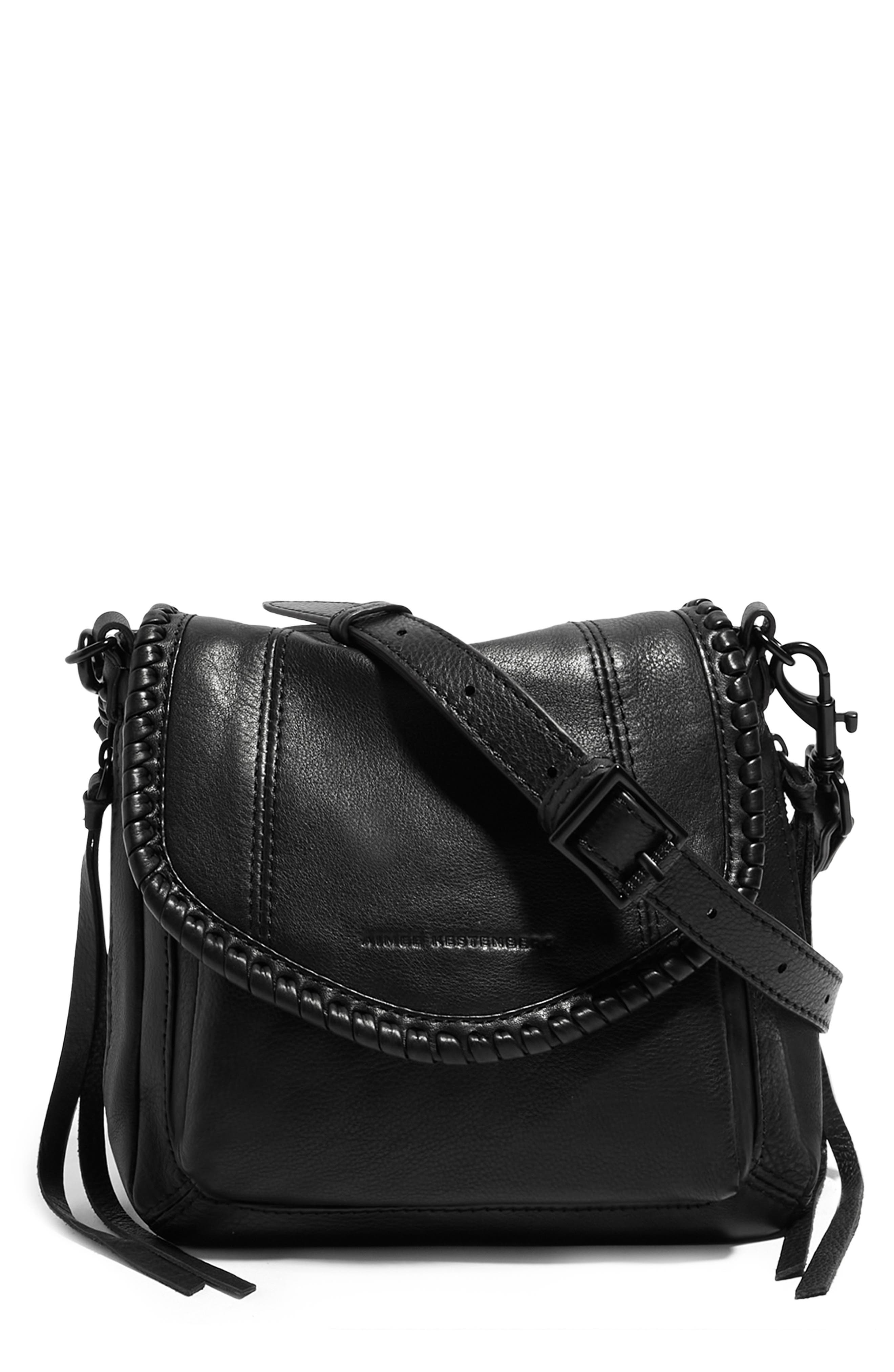 Mini All For Love Convertible Leather Crossbody Bag
