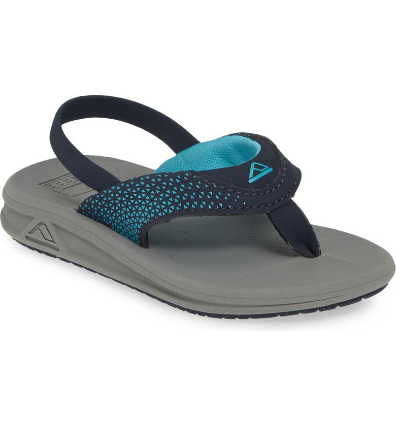 REEF 'Grom Rover' Water Friendly Sandal, Main, color, GREY/ NAVY