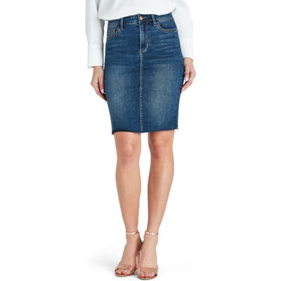 Sam Edelman Riley Denim Skirt, Blue