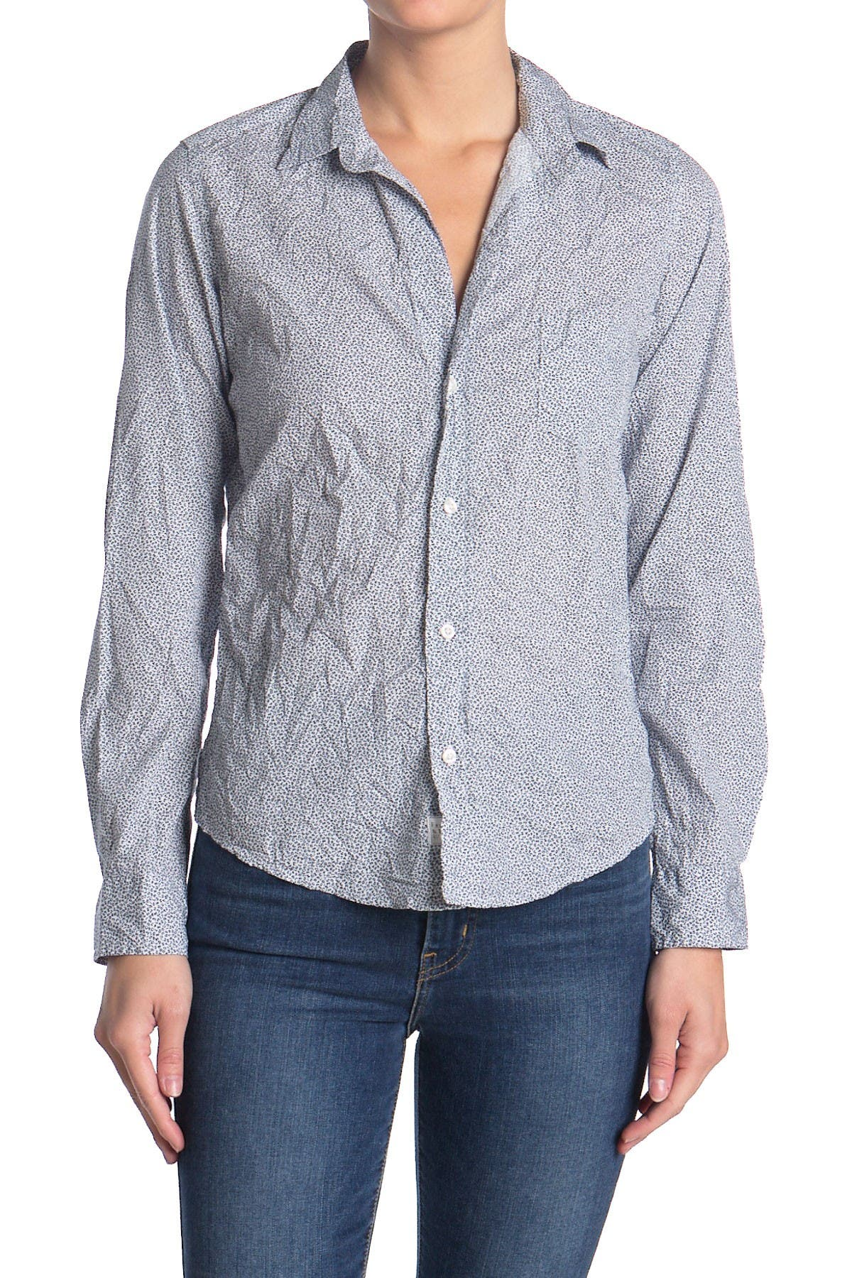 Image of FRANK & EILEEN Barry Ditsy Classic Tailored Fit Shirt