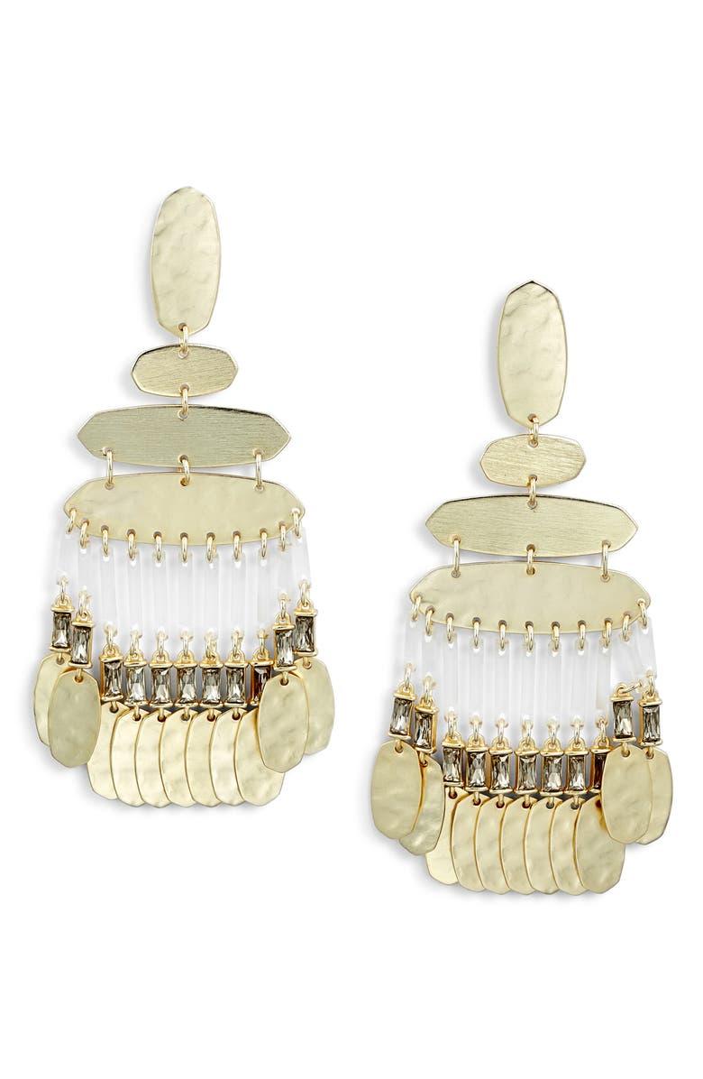 KENDRA SCOTT Nicola Large Chandelier Earrings, Main, color, 020