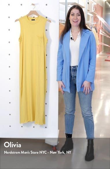 Pocket Midi T-Shirt Dress, sales video thumbnail