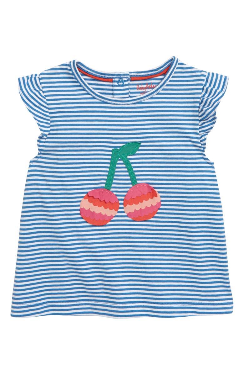 Mini Boden Fluttery Appliqu T Shirt Baby