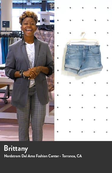 Good Curve High Waist Denim Shorts, sales video thumbnail