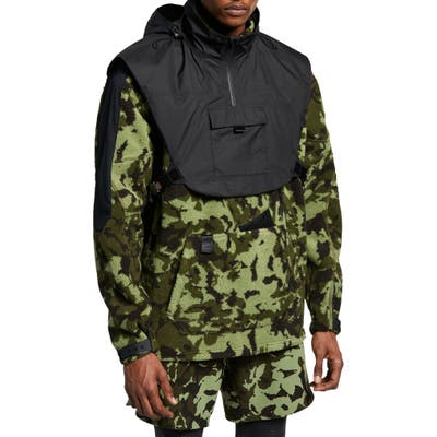 Nike X Mmw Beryllium Hooded Jacket, Black