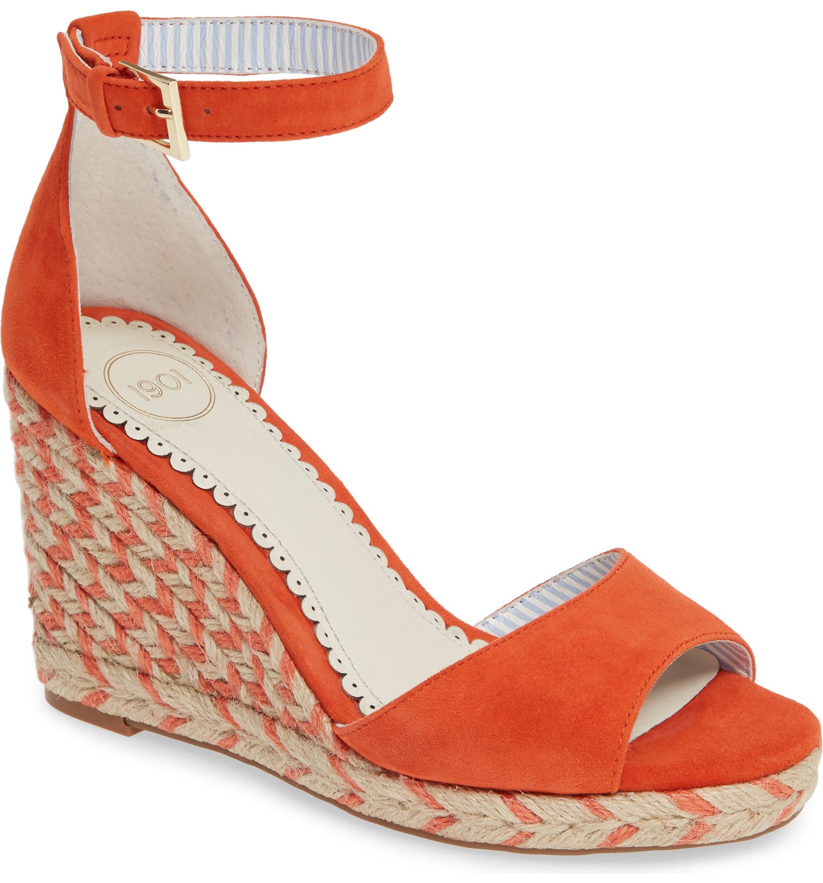 7c566858dee Nadine Espadrille Wedge Ankle Strap Sandal