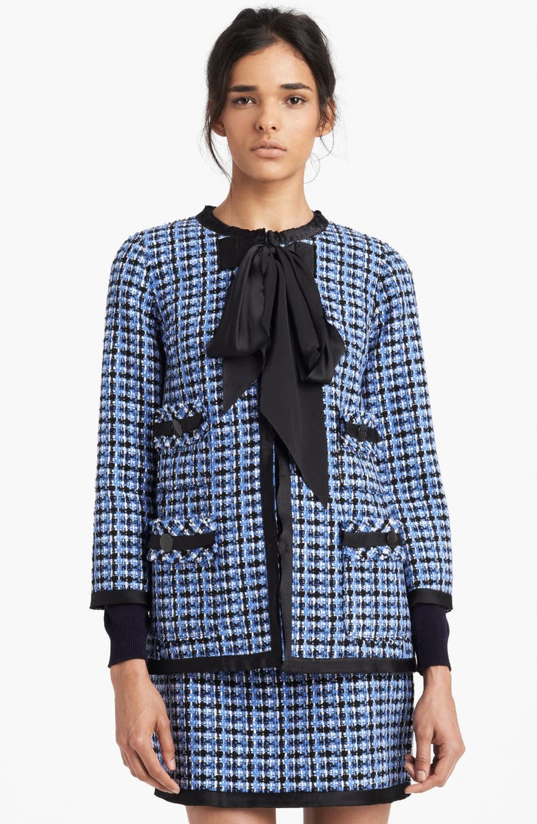 MARC JACOBS Wool Blend Tweed Jacket, Main, color, 460