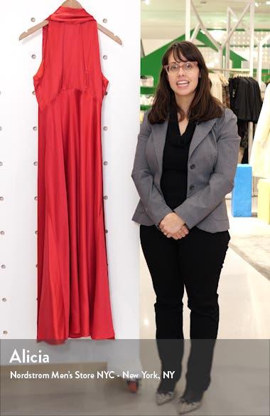 Michelle Silk Midi Dress, sales video thumbnail