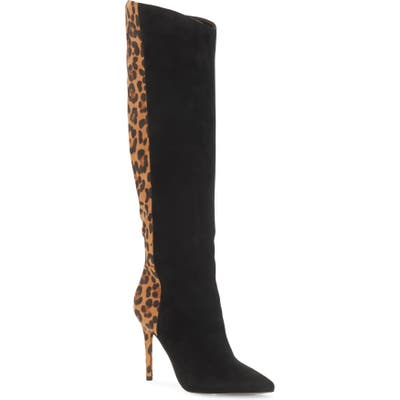 Jessica Simpson Liney Pointed Toe Boot- Black