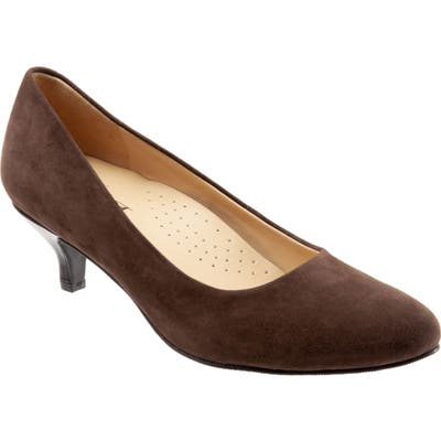 Trotters Kiera Pump W - Brown