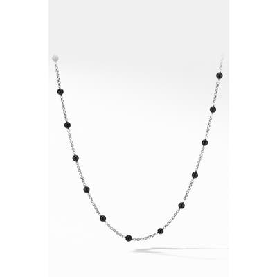 David Yurman Cable Collectibles Bead & Chain Necklace