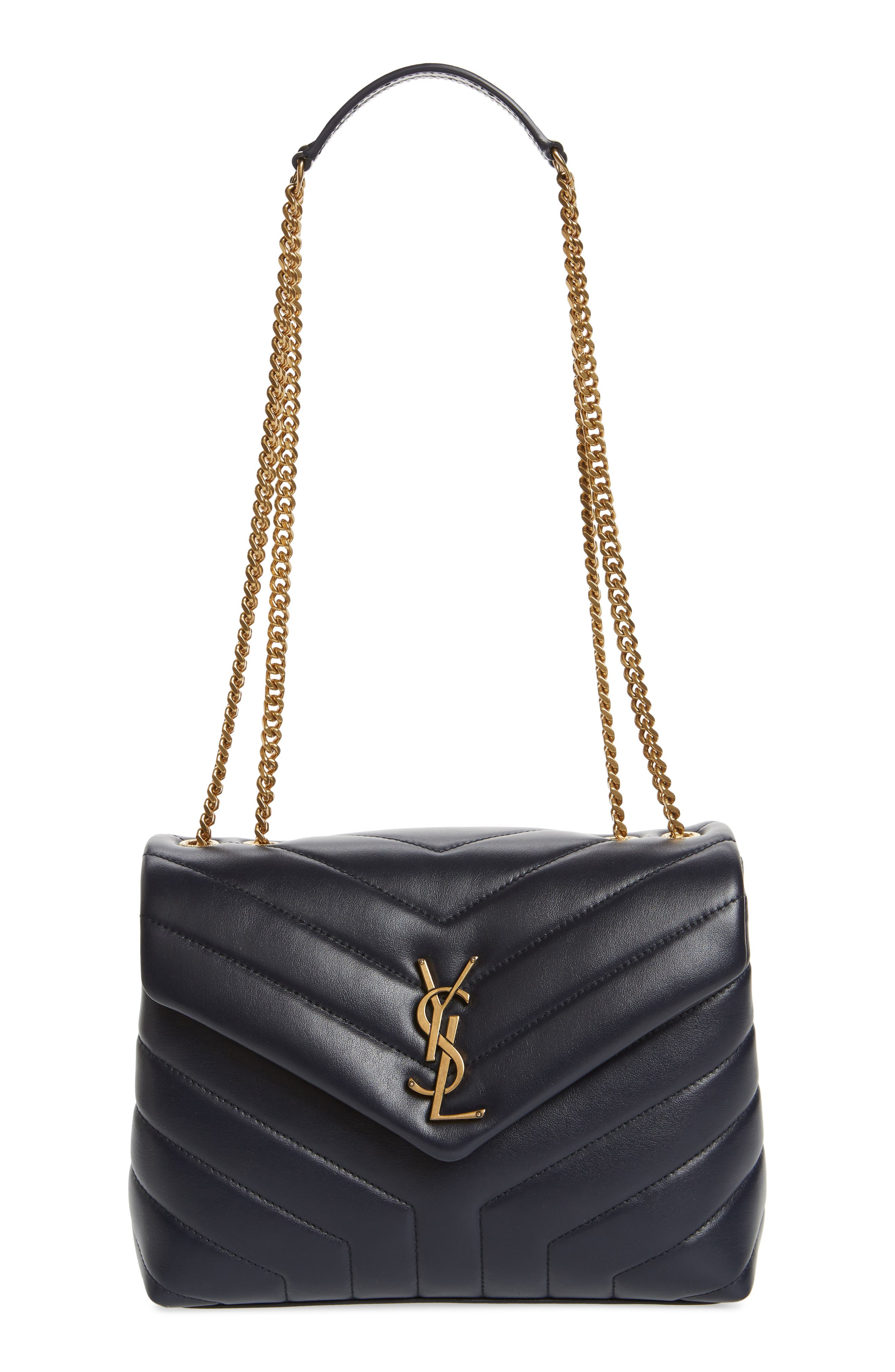 ,                             Small Loulou Leather Shoulder Bag,                             Main thumbnail 17, color,                             400