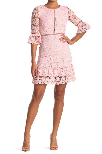 Image of Love by Design Lace Bell Sleeve Dress