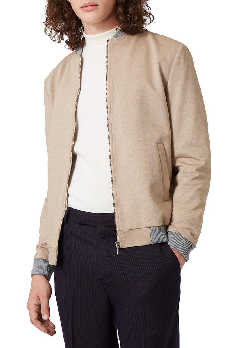 Jersey Bomber Jacket by Topman