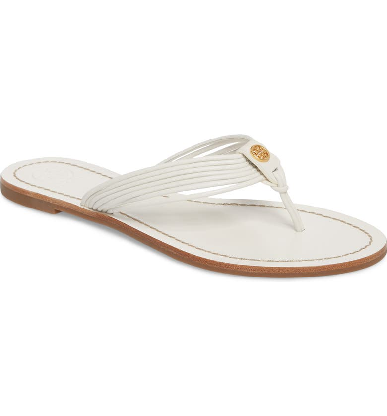 TORY BURCH Sienna Strappy Thong Sandal, Main, color, 123