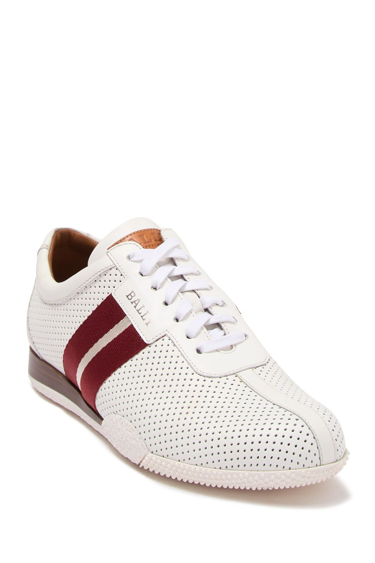 BALLY | Leather Perforated Sneaker