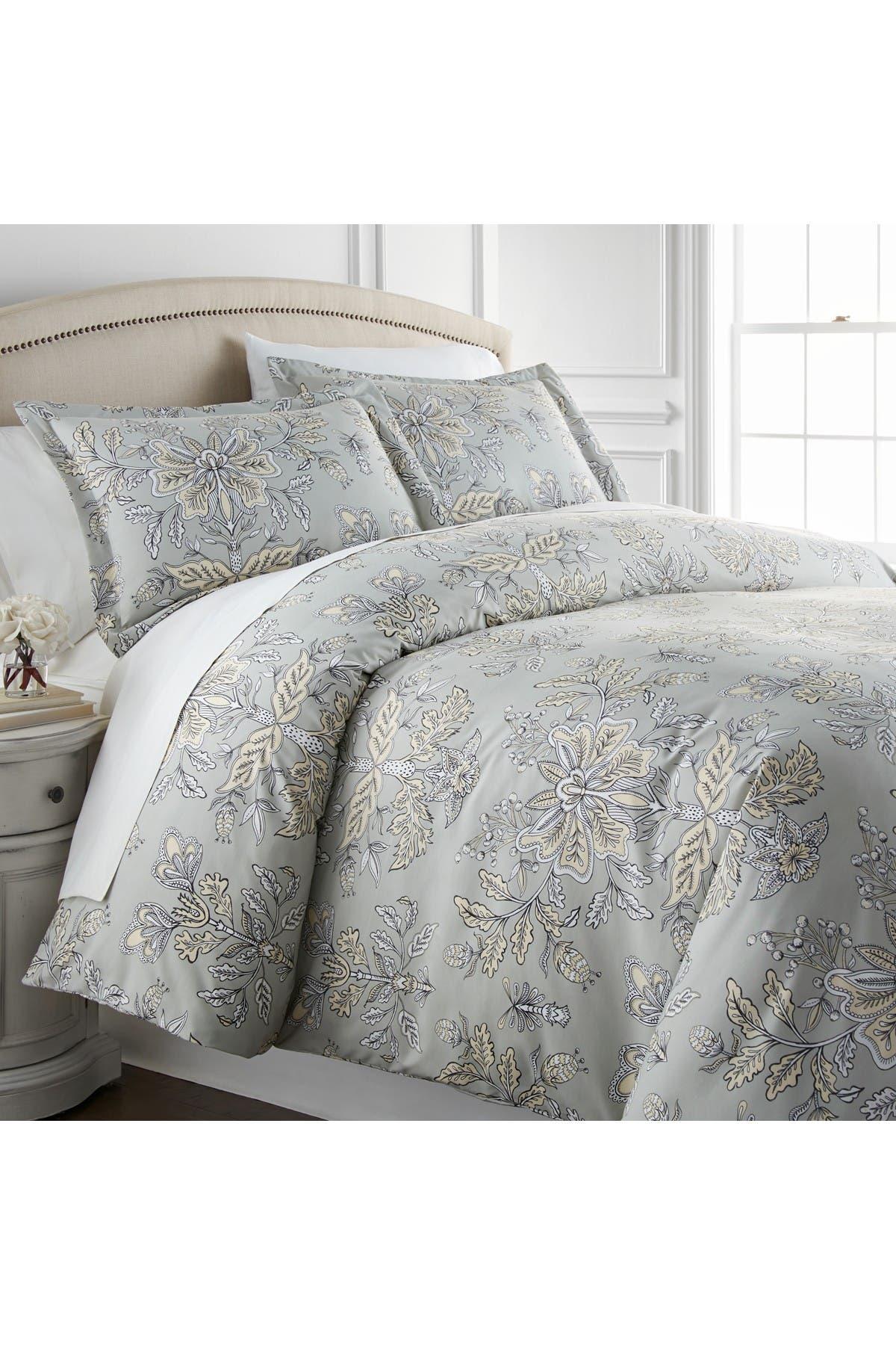 Southshore Fine Linens King California King Luxury Premium Oversized Comforter Sets Vintage Garden Sandy Grey Nordstrom Rack