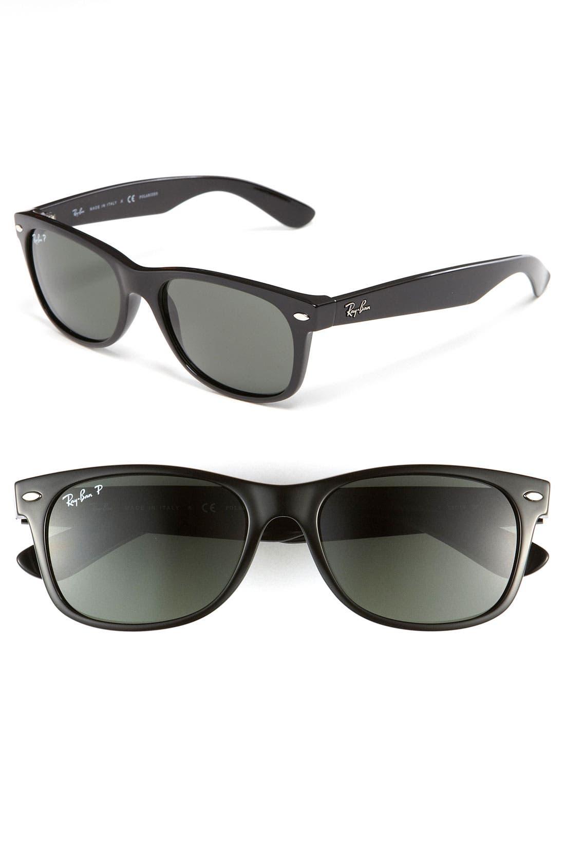 Ray-Ban Standard New Wayfarer 55Mm Polarized Sunglasses -