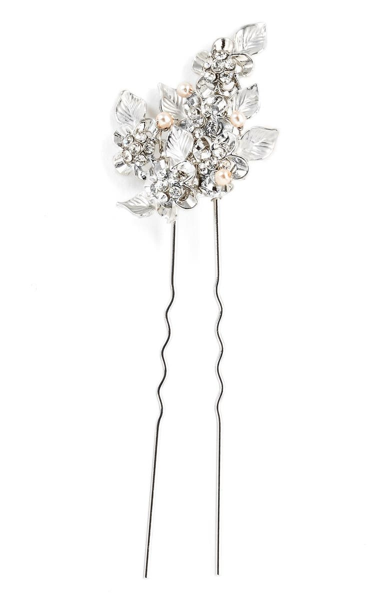 'eloise' Crystal Hairpin by Wedding Belles New York