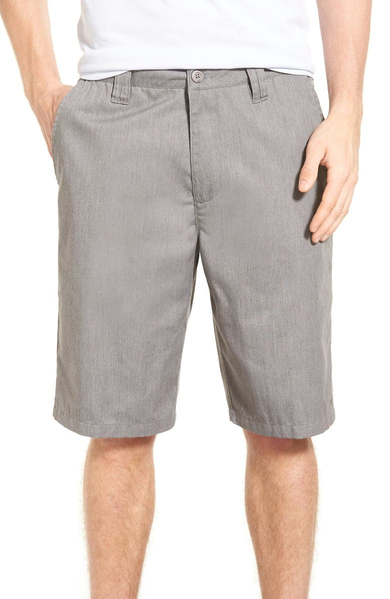 O'NEILL 'Contact' Shorts, Main, color, HEATHER GREY