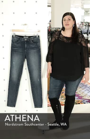 Ab-Solution High Waist Skinny Jeans, sales video thumbnail