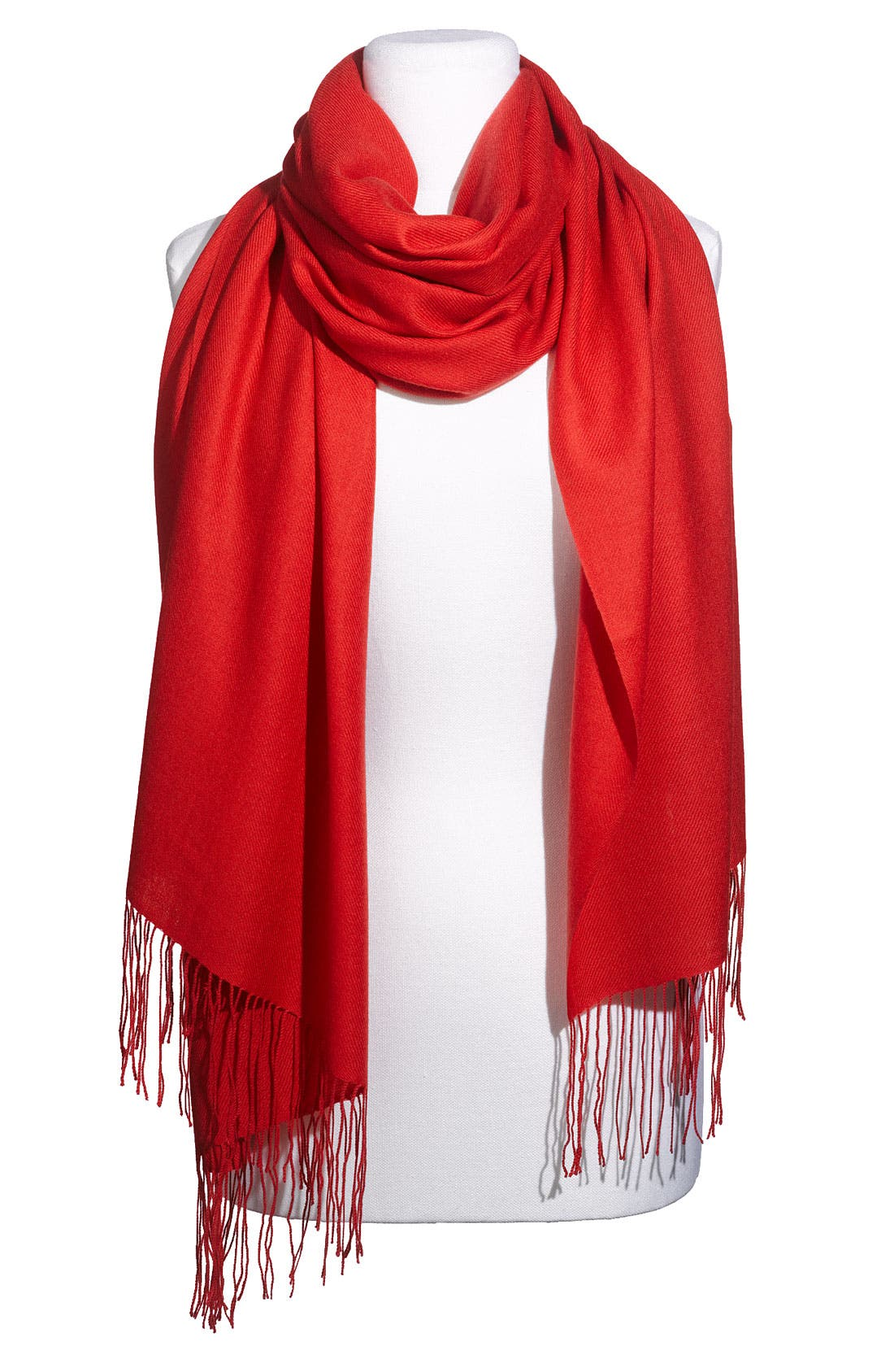 ,                             Tissue Weight Wool & Cashmere Wrap,                             Main thumbnail 204, color,                             800