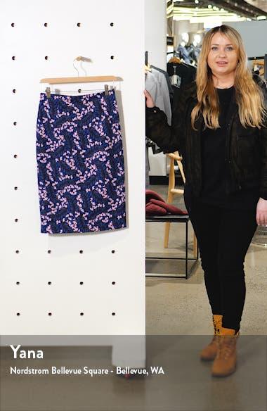 Kensington Stretch Cotton Pencil Skirt, sales video thumbnail