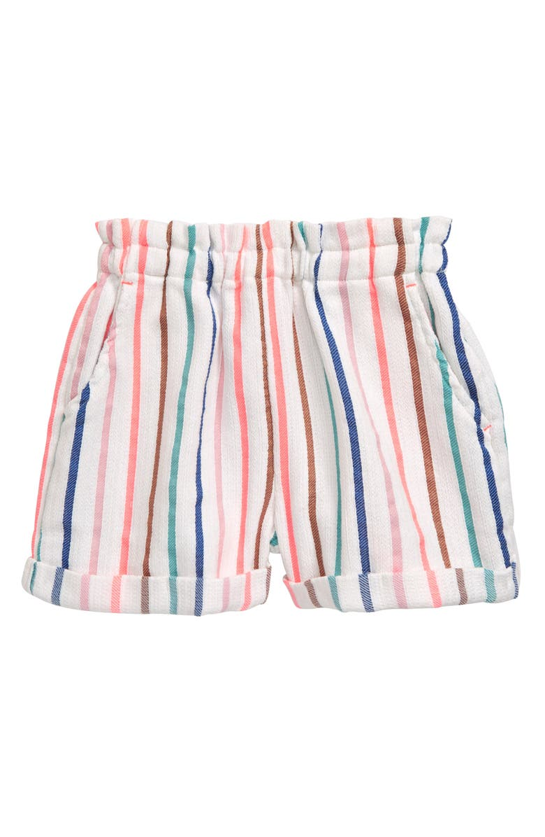 MINI BODEN Colorful Woven Shorts, Main, color, 650