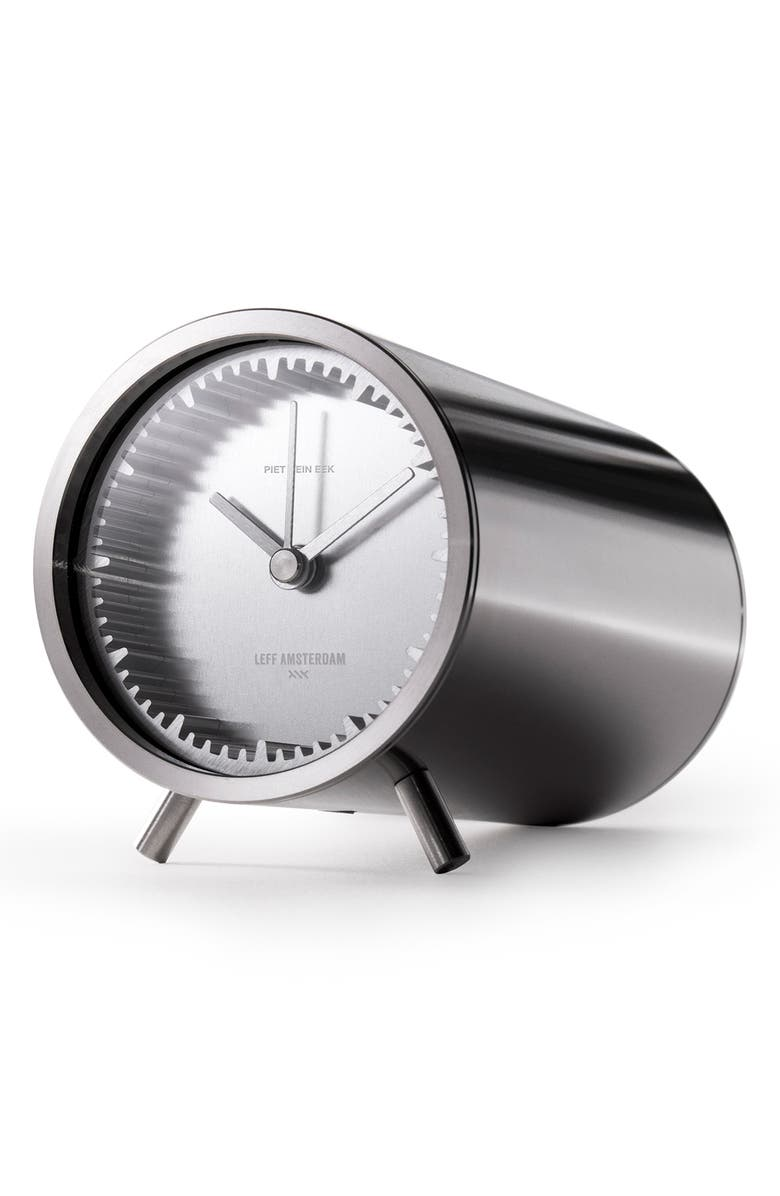 LEFF AMSTERDAM Tube Desk Clock, Main, color, 040