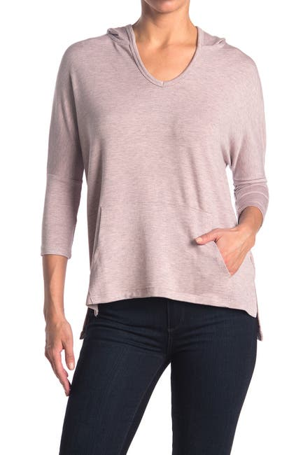 Image of Workshop Dolman 3/4 Sleeve Tunic Hoodie