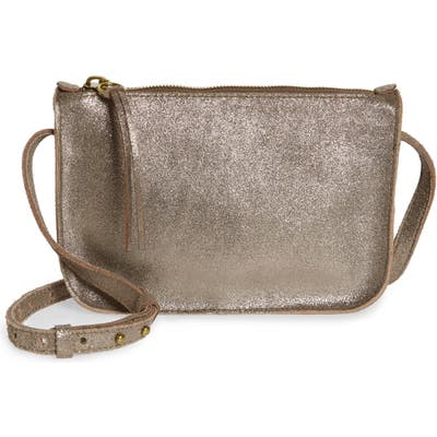 Madewell The Simple Crossbody Bag - Metallic