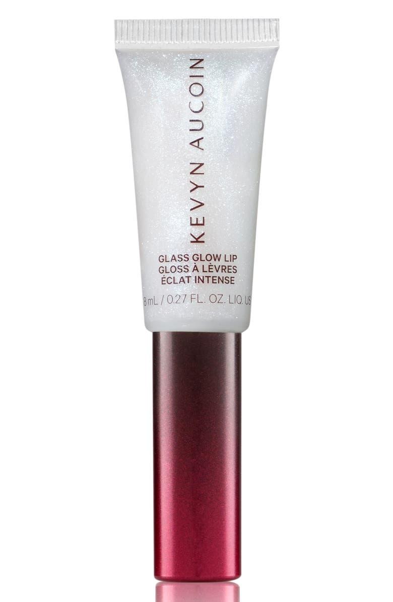 KEVYN AUCOIN BEAUTY Glass Glow Lip Gloss, Main, color, CRYSTAL CLEAR