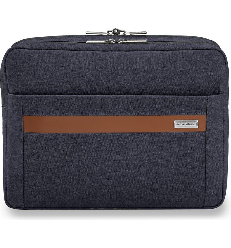 BRIGGS & RILEY Kinzie Street Micro Messenger Bag, Main, color, NAVY