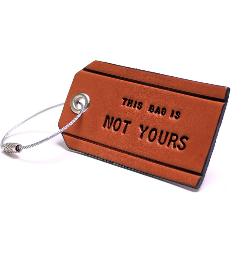 BOARDING PASS This Bag Is Not Yours Luggage Tag, Main, color, 200