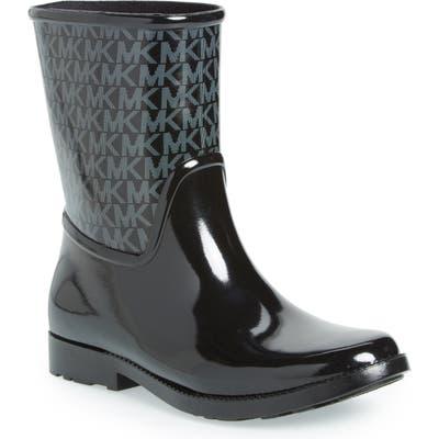 Michael Michael Kors Sutter Rain Bootie, Black