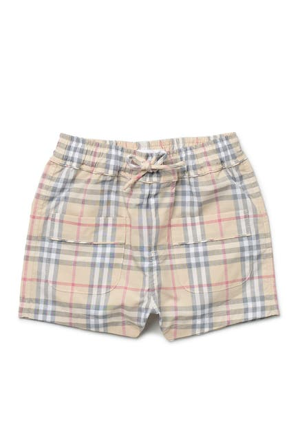 Image of Burberry Conroy Check Plaid Shorts