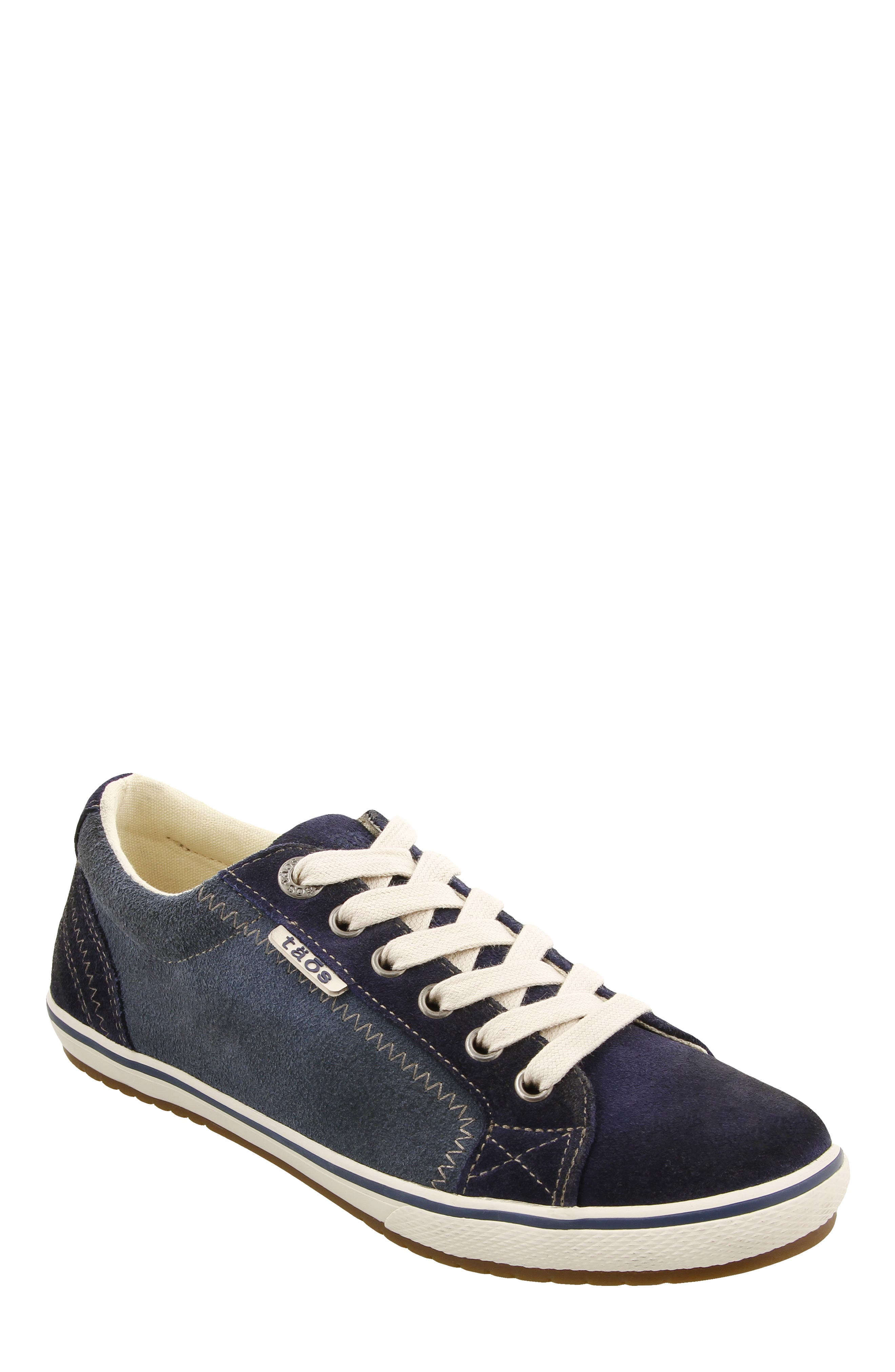 Retro Star Sneaker, Main, color, BLUE MULTI LEATHER
